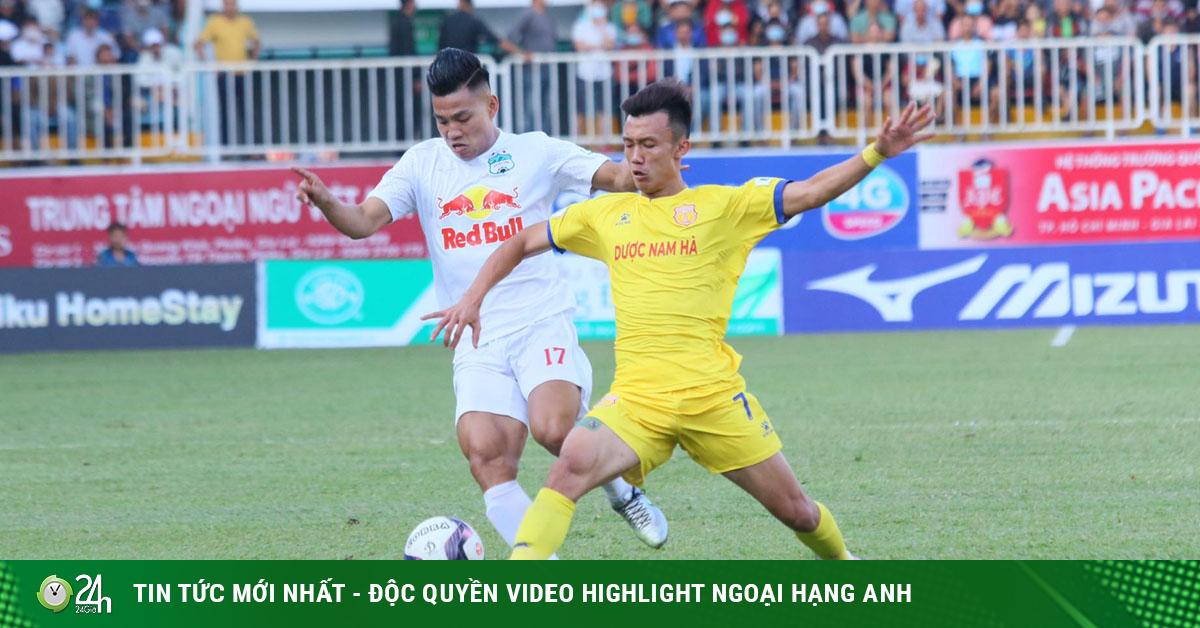 Trực tiếp bóng đá HAGL - Nam Định: Điên rồ 6 phút bù giờ (Hết giờ)