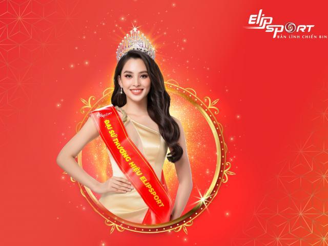 Hoa hậu Trần Tiểu Vy đồng hành cùng Elipsport nâng cao sức khỏe người Việt