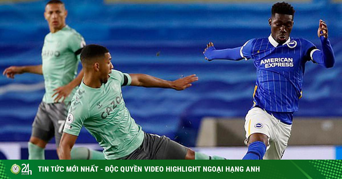 Trực tiếp bóng đá Brighton - Everton: Hú vía phút bù giờ (Hết giờ)