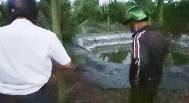 3 cháu nhỏ chết thương tâm dưới ao nước tưới cây ở Đồng Nai - 1