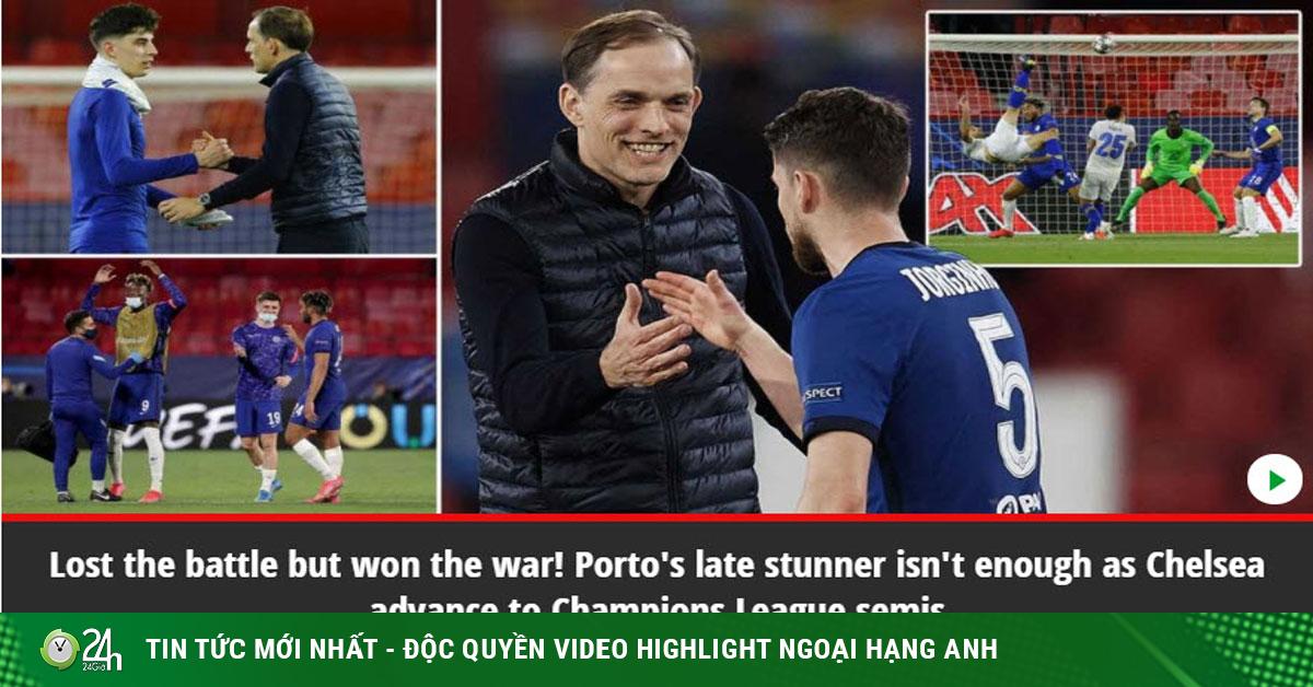 Chelsea vào bán kết Cúp C1, Tuchelđón mưa lời chúc từ truyền thông Anh
