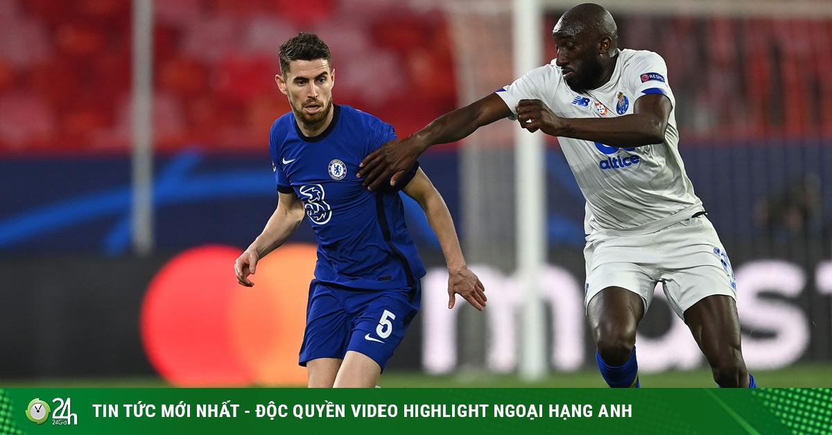 Kết quả bóng đá Cúp C1, Chelsea - Porto: Tiếc nuối siêu phẩm muộn màng