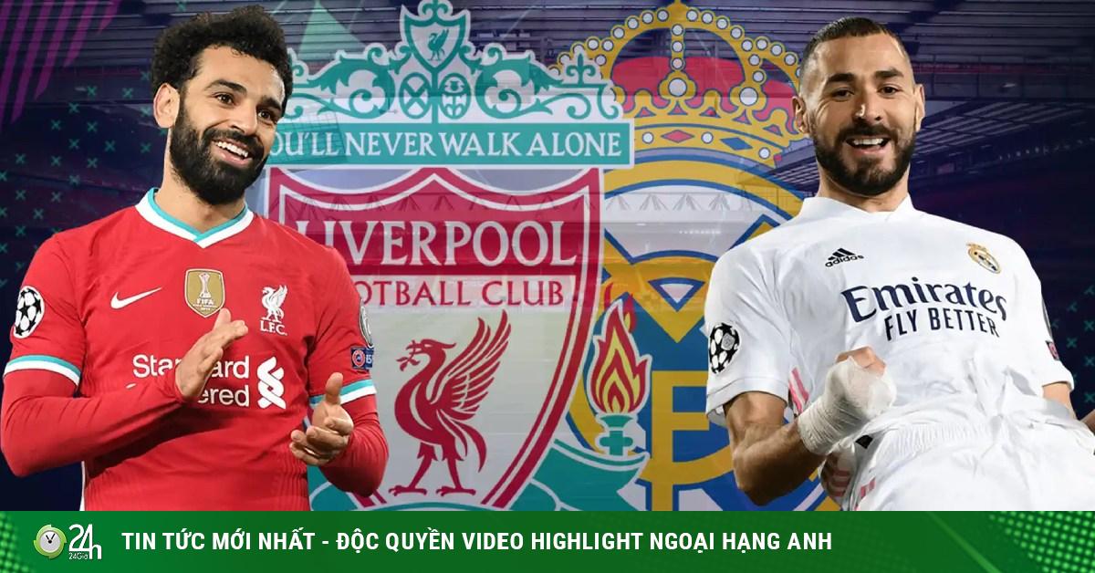 Trực tiếp bóng đá cúp C1, Liverpool - Real Madrid: Anfield rực lửa, cảm hứng Siêu Kinh Điển