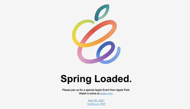 CHÍNH THỨC: Apple sẽ tổ chức sự kiện Spring Loaded vào ngày 20/04 - 1