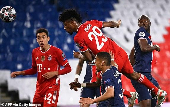 Kết quả bóng đá Cúp C1, PSG - Bayern Munich: Đôi công mãn nhãn, kết cục vỡ òa - 1