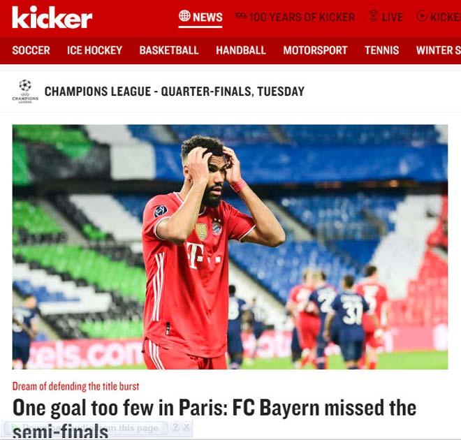 PSG vượt ải Bayern Munich: Báo Pháp vừa mừng vừa run, báo Đức tiếc nuối - 4