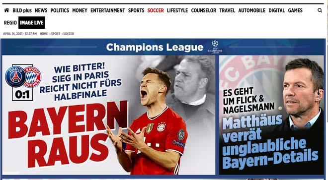 PSG vượt ải Bayern Munich: Báo Pháp vừa mừng vừa run, báo Đức tiếc nuối - 5
