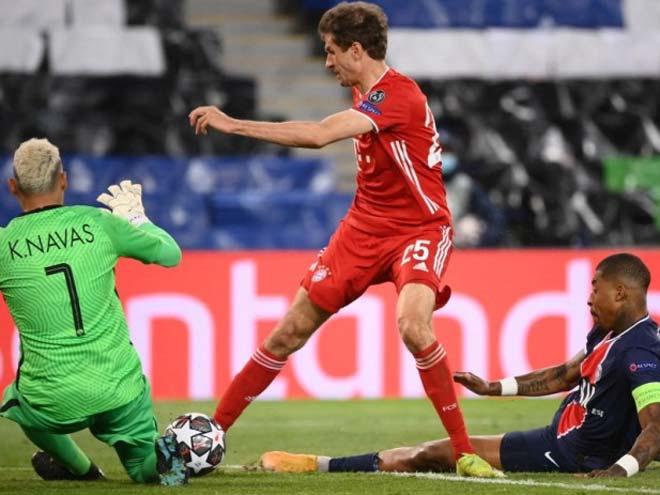 """Rực lửa Cúp C1: Neymar - Mbappe vô duyên, PSG vẫn hạ bệ """"Nhà vua"""" Bayern - 7"""
