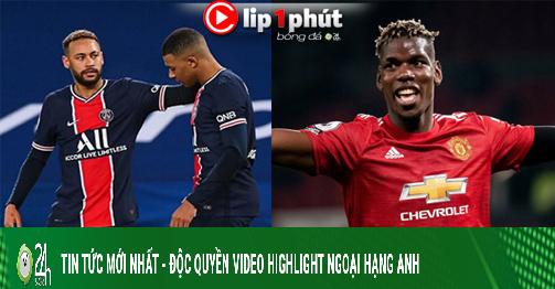 Có Mbappe PSG mơ lên ngôi Cúp C1, Pogba tăng giá chóng mặt nhờ Real Madrid (Clip 1 phút Bóng đá 24H)
