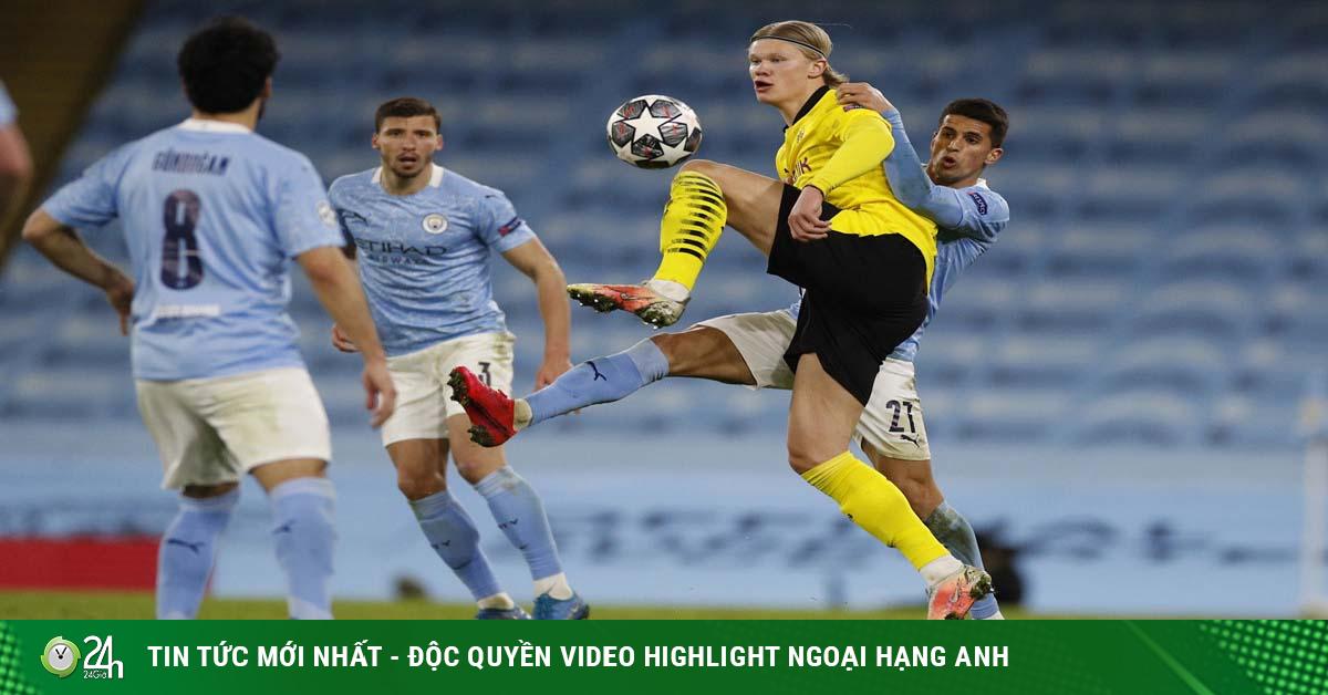 Trực tiếp bóng đá Dortmund - Man City: Chờ lần đầu tiên cùng Pep Guardiola