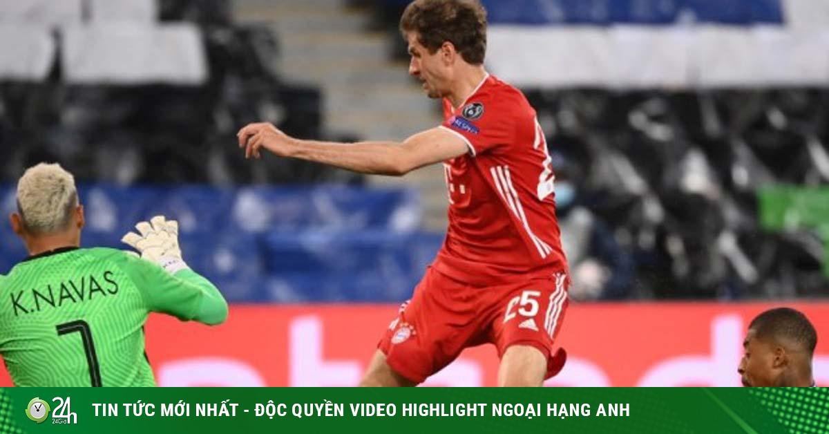 Rực lửa Cúp C1: Neymar - Mbappe vô duyên, PSG vẫn hạ bệ Nhà vua Bayern