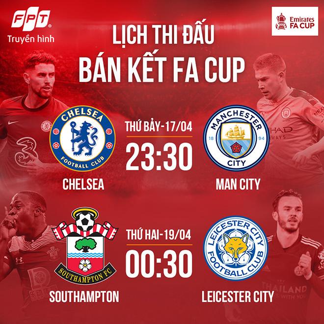 """Bán kết FA Cup: Leicester City - Southampton, tấm vé Chung kết dễ dàng cho """"bầy cáo""""? - 4"""