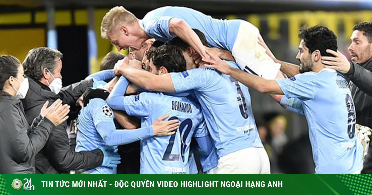 Man City vào bán kết Cúp C1 & số trận cần thắng để lập kỳ tích ăn 4