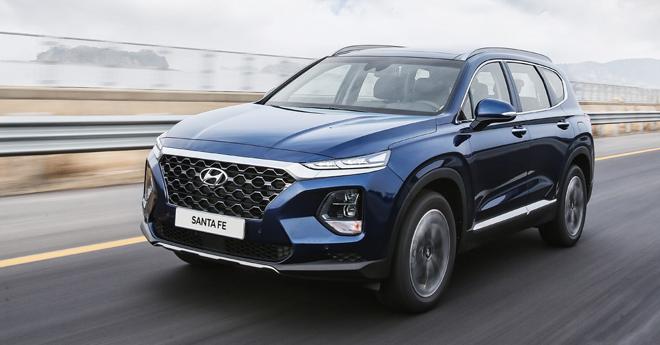Hyundai Santafe ưu đãi khủng lên tới 60 triệu đồng - 2