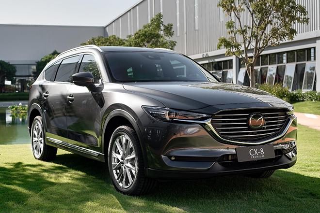 Mazda CX-8 giảm giá hơn 100 triệu đồng tại một số đại lý