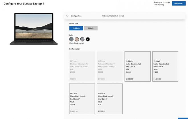 Ra mắt laptop Microsoft Surface 4 với chip cực khỏe, giá từ 23 triệu - 3