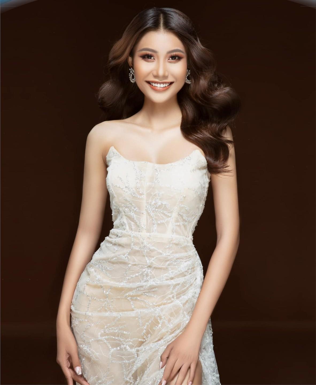 Nữ sinh miền gái đẹp Cần Thơ gây chú ý vì quá xinh tại Hoa hậu Thế giới Việt Nam - hình ảnh 5