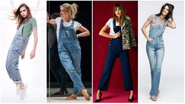 Những kiểu mặc đẹp với quần yếm - hình ảnh 9