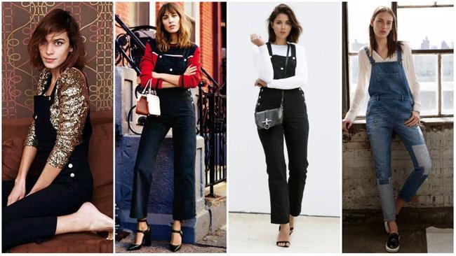 Những kiểu mặc đẹp với quần yếm - hình ảnh 10