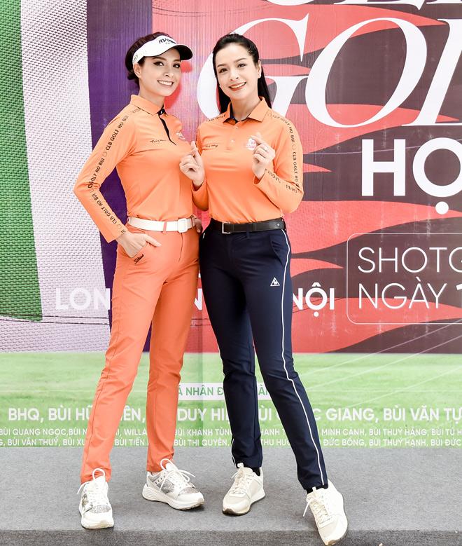 """Hoa hậu Jennifer Phạm cùng dàn chân dài mê chơi golf """"không hẹn mà gặp"""" - hình ảnh 6"""