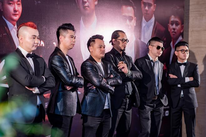 """MC Anh Tuấn dẫn vợ """"hoa hậu"""" tới ủng hộ nhóm nhạc rock Ngũ Cung - hình ảnh 1"""
