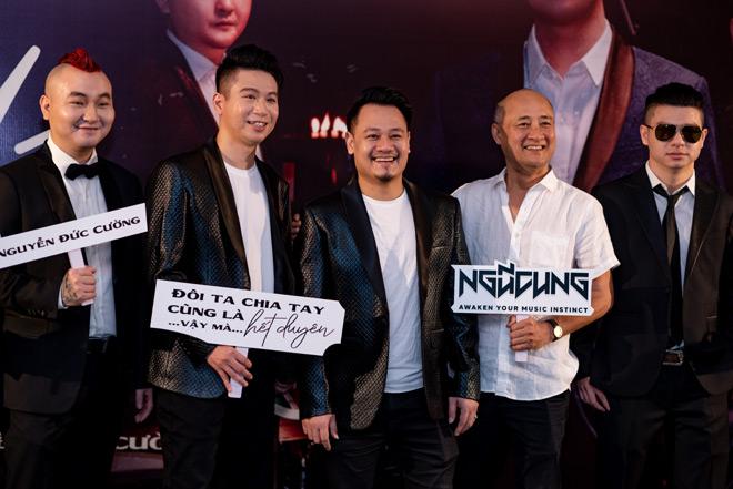 """MC Anh Tuấn dẫn vợ """"hoa hậu"""" tới ủng hộ nhóm nhạc rock Ngũ Cung - hình ảnh 8"""