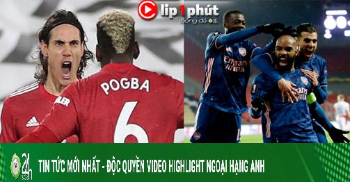 MU lo sốt vó vì Pogba - Cavani quá hay, Arsenal giúp Ngoại hạng Anh chiếm 5 suất dự Cúp C1? (Clip 1 phút Bóng đá 24H)