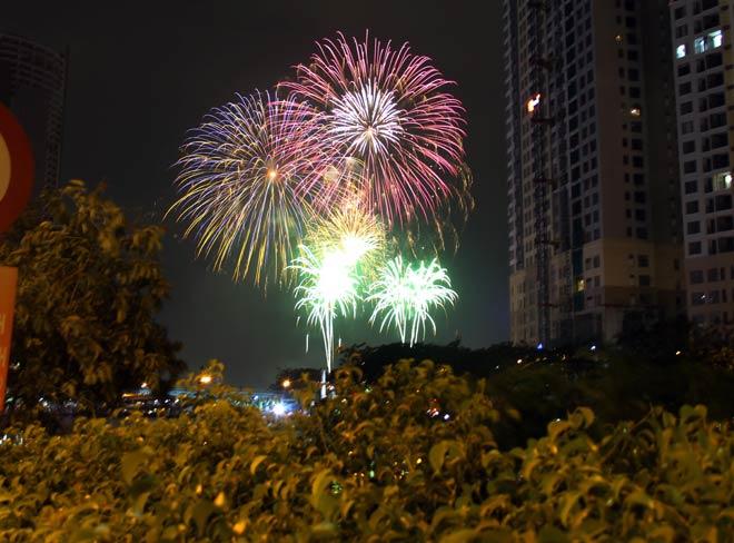 Giỗ Tổ Hùng Vương năm 2021: Người dân được xem bắn pháo hoa tầm cao - hình ảnh 1