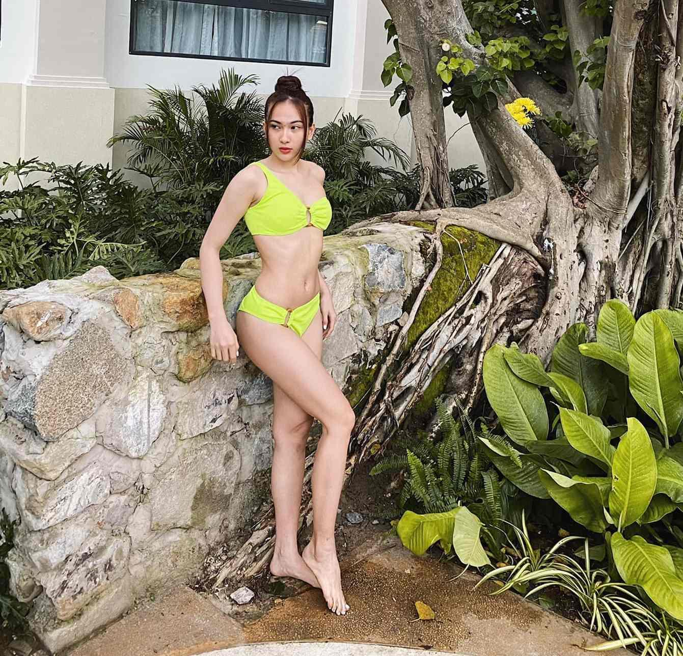 """Thí sinh hoa hậu """"bí ẩn"""" đến từ Hà Nội: Chưa thi đã về nhất vì đặc điểm cơ thể nổi bật - hình ảnh 3"""