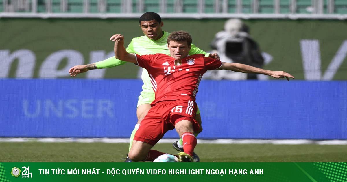 Video Wolfsburg - Bayern Munich: Đại tiệc 5 bàn, tiến sát ngôi vương