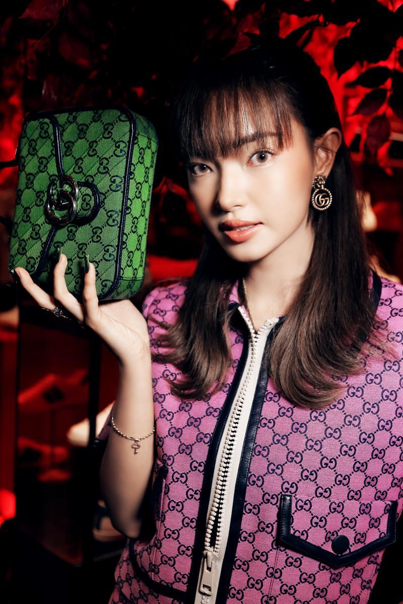 Amee hoá tiểu thư đài các trong sự kiện ra mắt bộ sưu tập mới của Gucci - hình ảnh 1