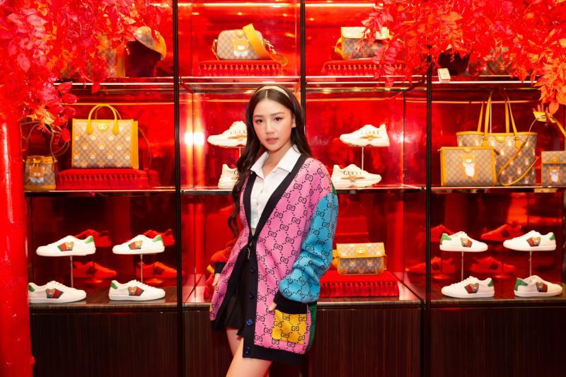 Amee hoá tiểu thư đài các trong sự kiện thời trang của Gucci - 6