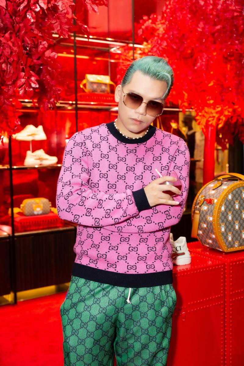 Amee hoá tiểu thư đài các trong sự kiện ra mắt bộ sưu tập mới của Gucci - hình ảnh 8