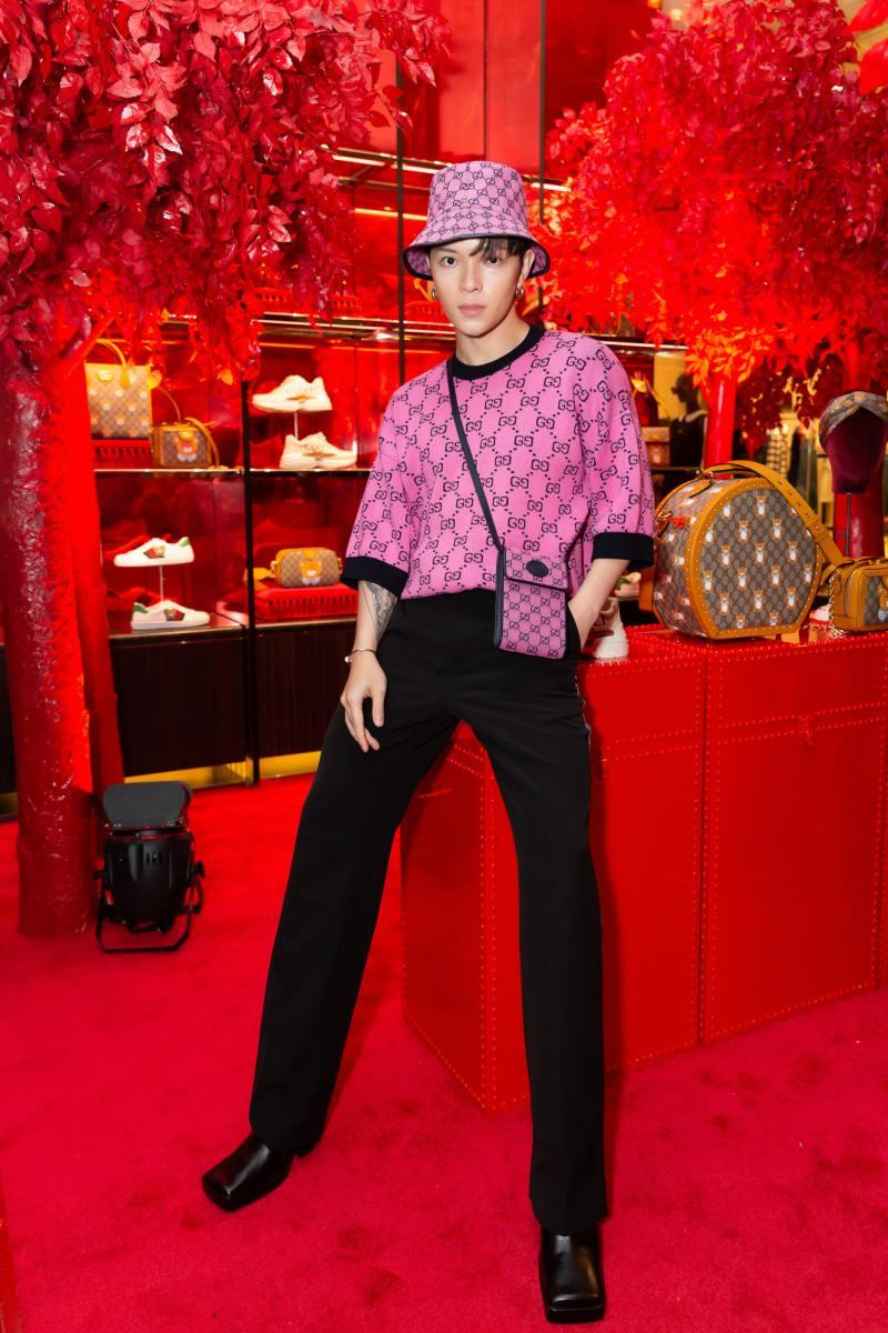 Amee hoá tiểu thư đài các trong sự kiện ra mắt bộ sưu tập mới của Gucci - hình ảnh 7