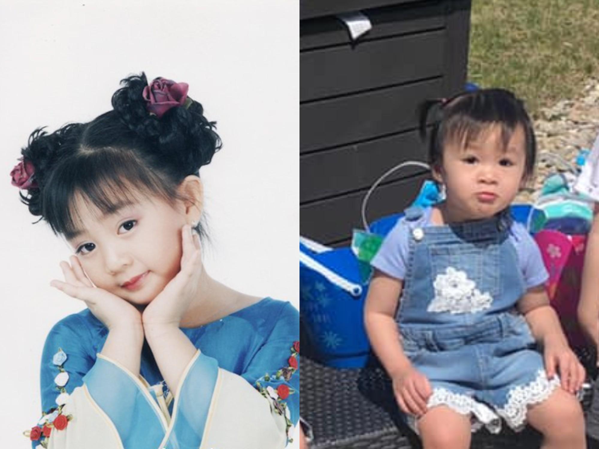 """""""Bé Xuân Mai"""" khoe diện mạo con gái út 3 tuổi """"gây sốt"""" cộng đồng mạng - hình ảnh 3"""