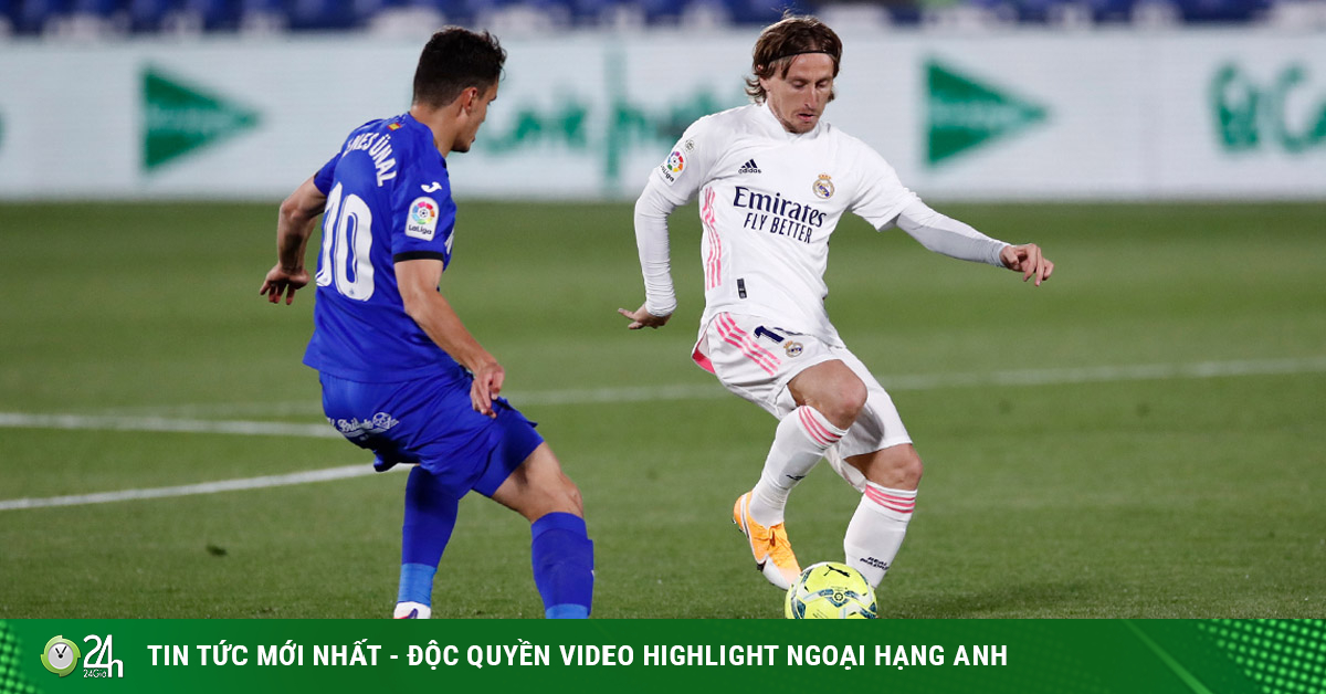 Video Getafe - Real Madrid: Khung thành rung chuyển, người nhện xuất hiện