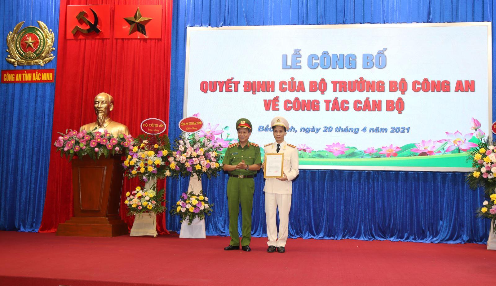 Bắc Ninh có tân Giám đốc Công an tỉnh 43 tuổi - hình ảnh 1