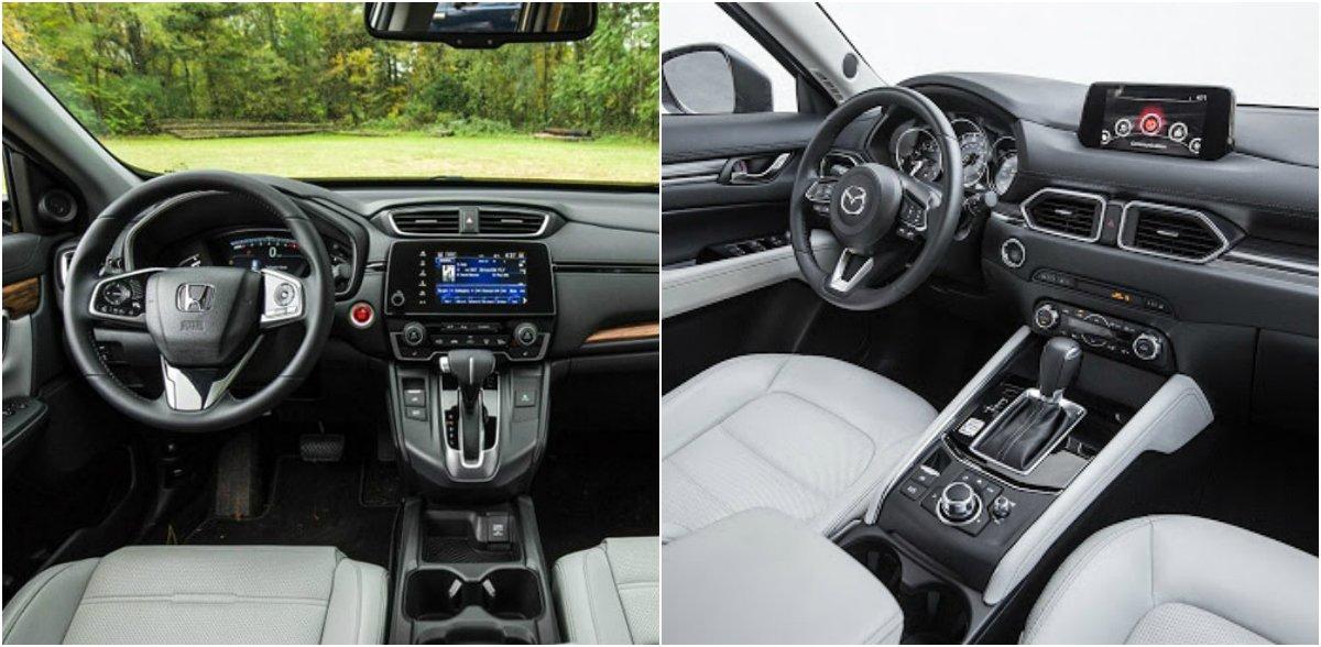 Mazda CX-5 vs Honda CR-V: Tầm giá 1 tỷ đồng bạn thích trẻ trung hay điềm đạm? - 5