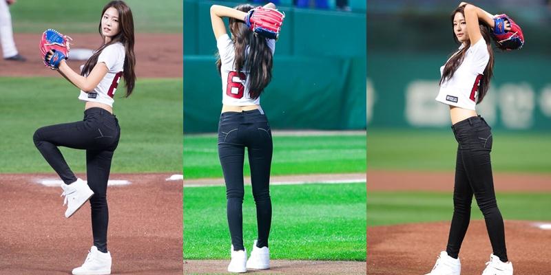 """Mặc kiểu quần này lên sân bóng chày, loạt gái xinh """"nổi tiếng"""" bất đắc dĩ - hình ảnh 3"""