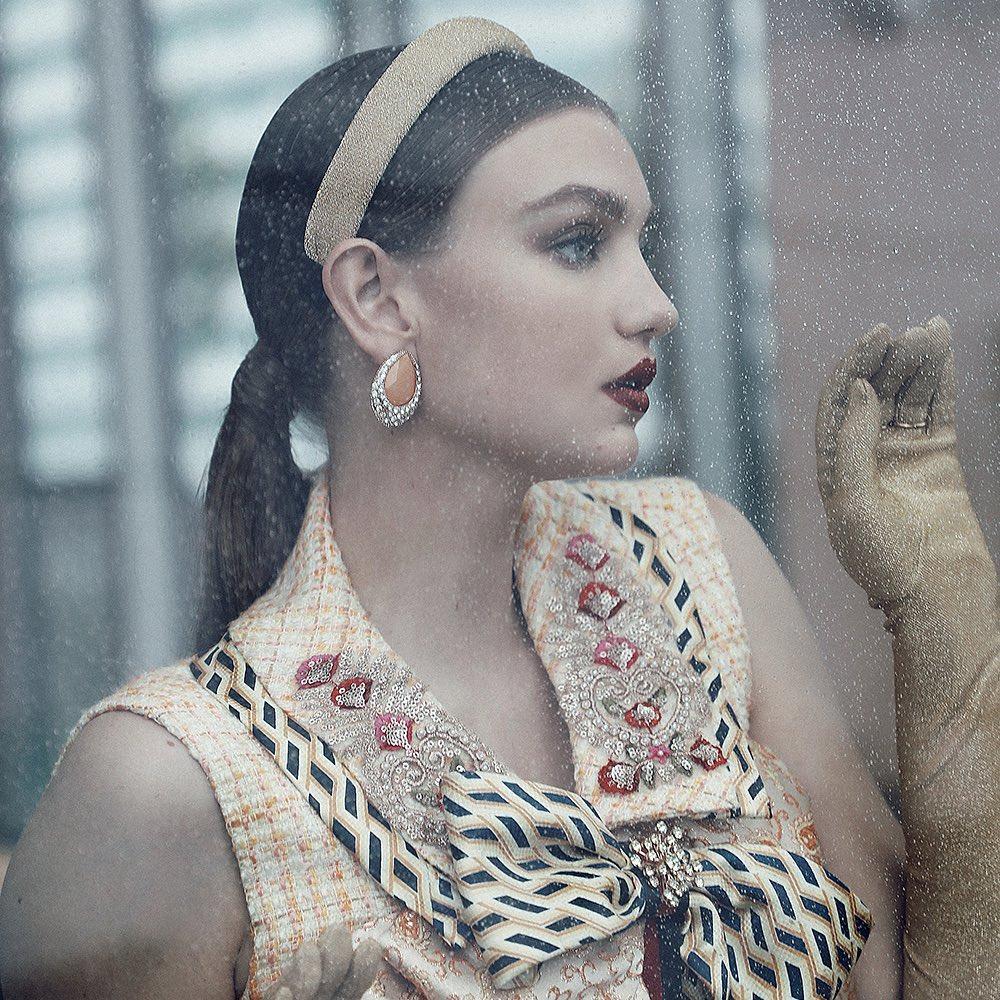 """""""Nữ thần mũm mĩm"""" gây sốt khi lên tạp chí thời trang Việt, vẻ tròn trịa, khoẻ mạnh hút hồn - hình ảnh 8"""