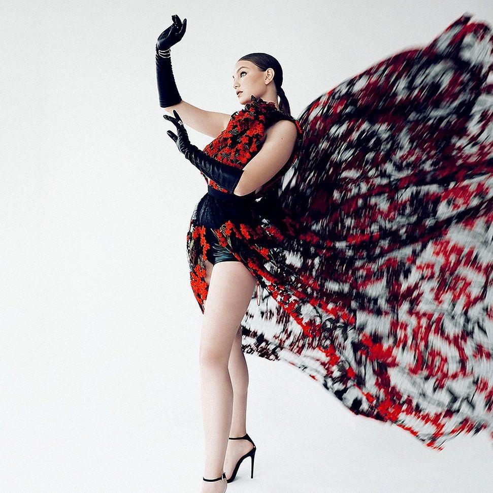 """""""Nữ thần mũm mĩm"""" gây sốt khi lên tạp chí thời trang Việt, vẻ tròn trịa, khoẻ mạnh hút hồn - hình ảnh 4"""