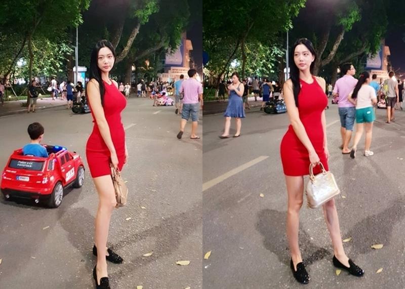 """""""Bom sex"""" Hàn Quốc gây náo loạn phố đi bộ Hà Nội, bước tới đâu nam giới """"đổ"""" tới đó vì đẹp - hình ảnh 4"""