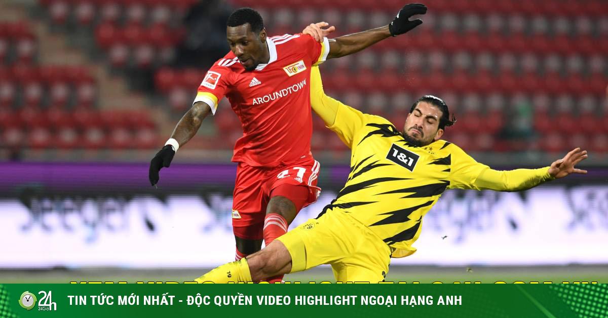 Video Dortmund - Union Berlin: Bắn phá liên hồi, tiếc nuối Haaland