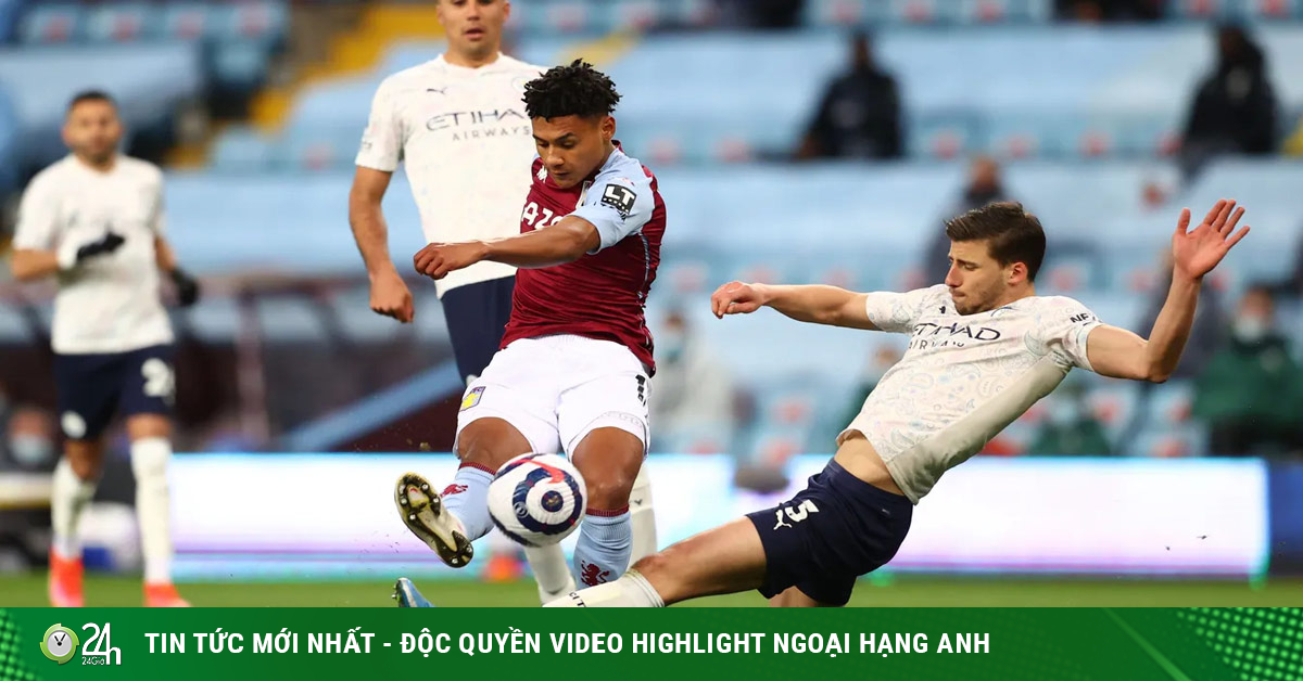 Video Aston Villa - Man City: Kịch bản khó tin, 2 thẻ đỏ gây sốc