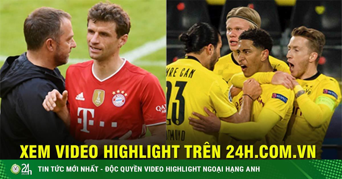 Bayern Munich quyết đăng quang sớm, Dortmund đại chiến vì top 4 Bundesliga
