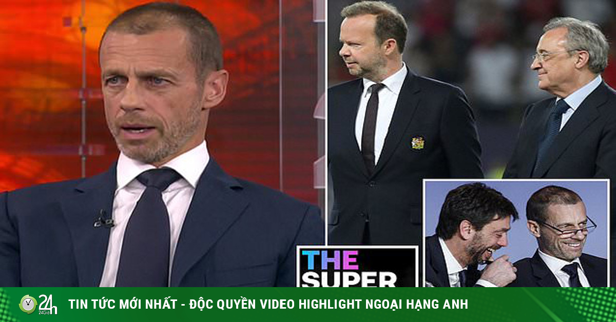 Hồi hộp phán quyết Super League: Real - Juventus dễ bị cấm dự Cúp C1