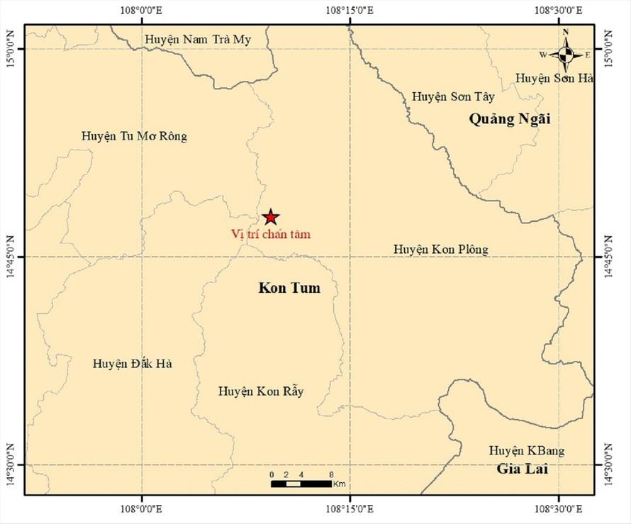 Lo ngại động đất liên tiếp ở Kon Tum - hình ảnh 1