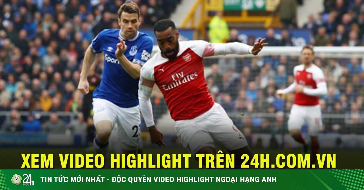 Trực tiếp bóng đá Arsenal - Everton: Pháo thủ quyết đấu vì Europa League
