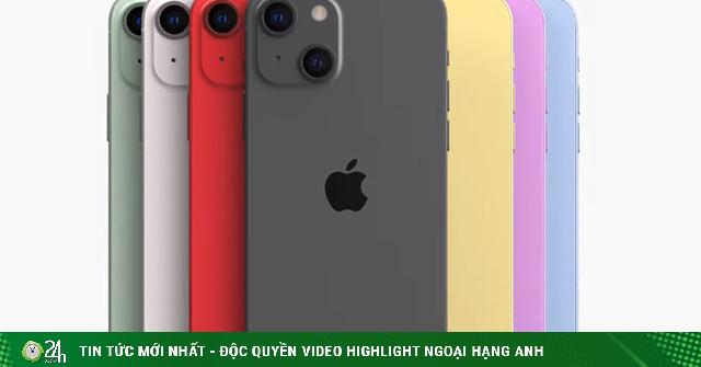 Nguyên mẫu iPhone 13 xuất hiện với ngoại hình đẹp rụng tim