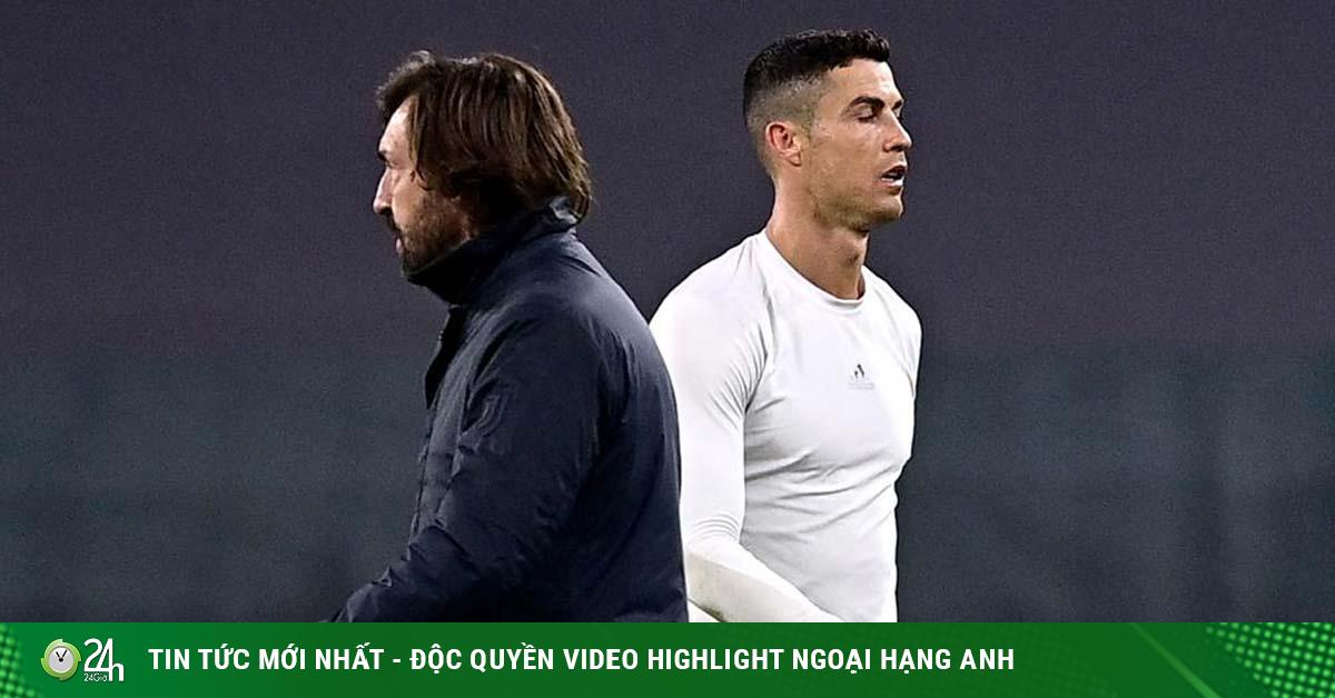 Ronaldo sợ bóng khi đứng hàng rào chống đá phạt, Pirlo sắp ra phán quyết